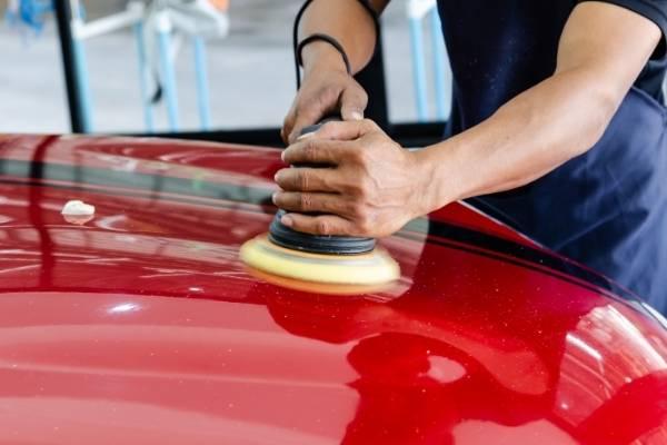 Car paint correction Darwin